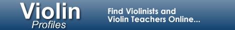 ViolinProfiles.com - Find Violinists and Violin Teachers Online